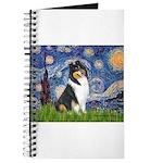 Starry Night / Collie (tri) Journal