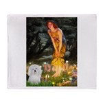 Midsummer's Eve Coton Throw Blanket