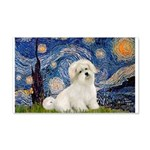 Starry / Coton de Tulear (#7) 20x12 Wall Decal