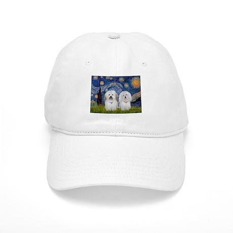 Starry / Coton Pair Cap