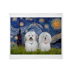 Starry / Coton Pair Throw Blanket