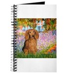 Garden -Dachshund (LH-Sable) Journal