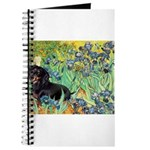 Irises & Dachshund (BT4) Journal