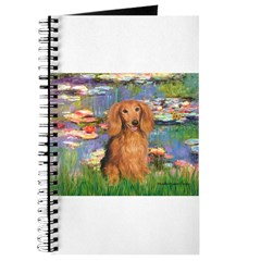 Lilies (2) & Doxie (LH-Sable) Journal