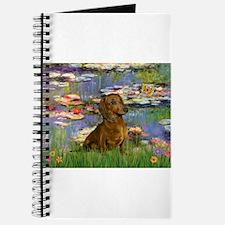 Lilies & Dachshund Journal