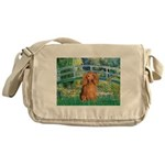 Bridge & Doxie (LH-Sable) Messenger Bag