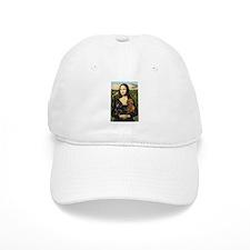Mona Lisa's Dachshunds Baseball Cap