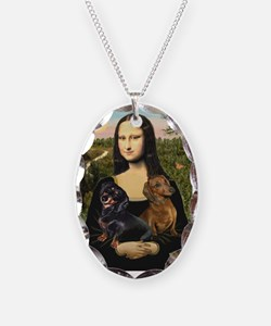 Mona Lisa's Dachshunds Necklace