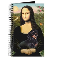 Mona Lisa/Dachshund (BT4) Journal