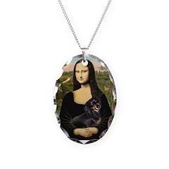 Mona Lisa/Dachshund (BT4) Necklace