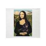 Mona's Dachshund Throw Blanket