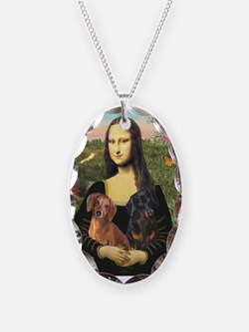 Mona Lisa's Dachshunds Necklace