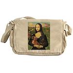 Mona Lisa's Dachshunds Messenger Bag