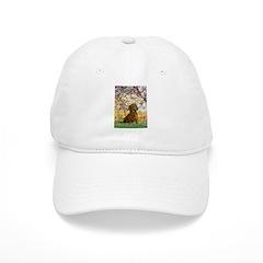 Spring / Dachshund Baseball Cap