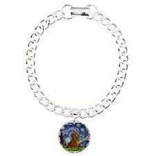 Starry / Dachshund Bracelet