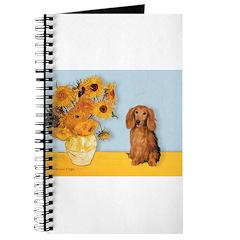 Sunflowers - Doxie (LH,S) Journal