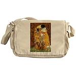 The Kiss/Two Dachshunds Messenger Bag