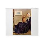 Whistler's /Dachshund(LH-Sabl) Throw Blanket