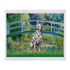 Bridge / Dalmatian #1 Throw Blanket