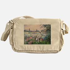 Seine / Dalmatian #1 Messenger Bag
