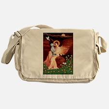 Angel / Dalmatian #1 Messenger Bag