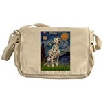 Starry / Dalmatian #1 Messenger Bag