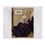 Whistler's / Dalmatian #1 Throw Blanket
