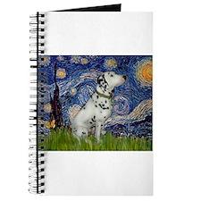 Starry Night / Dalmation Journal