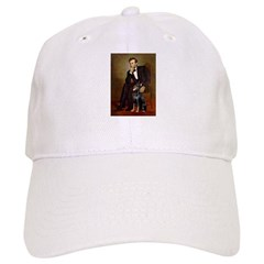 Lincoln's Doberman Baseball Cap