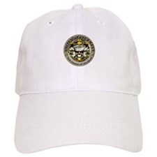 USN Navy Skull Sea Power Baseball Cap