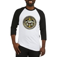 USN Navy Skull Sea Power Baseball Jersey