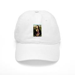 Mona's Red Doberman Baseball Cap