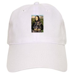Mona's 2 Dobies Baseball Cap