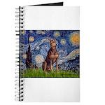 Starry / Red Doberman Journal