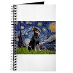 Starry Night Doberman Journal