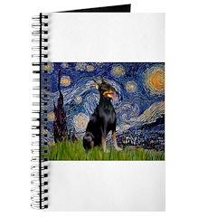 Starry Night Doberman Journal