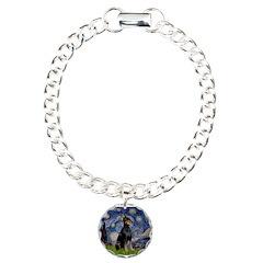 Starry Night Doberman Bracelet