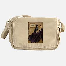 Mom's Doberman (#1) Messenger Bag