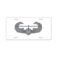 Air Assault Aluminum License Plate