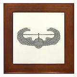 101st airborne Framed Tiles