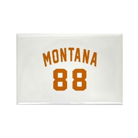 Montana 88 Birthday Des Rectangle Magnet (10 pack)