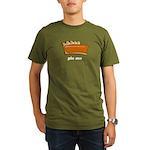 Thanksgiving- Pie Me Organic Men's T-Shirt (dark)