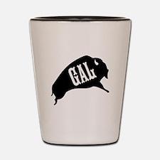 Buffalo Gal Shot Glass