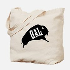 Buffalo Gal Tote Bag