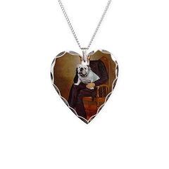 Lincoln's English Bulldog Necklace