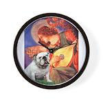 Mandolin Angel & English BD Wall Clock