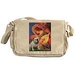 Mandolin Angel & English BD Messenger Bag