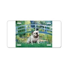 Bridge / English Bulldog (#9) Aluminum License Pla