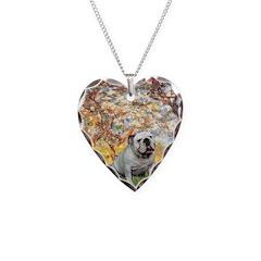 Spring/ English Bulldog (#9) Necklace