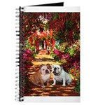 The Path / Two English Bulldogs Journal